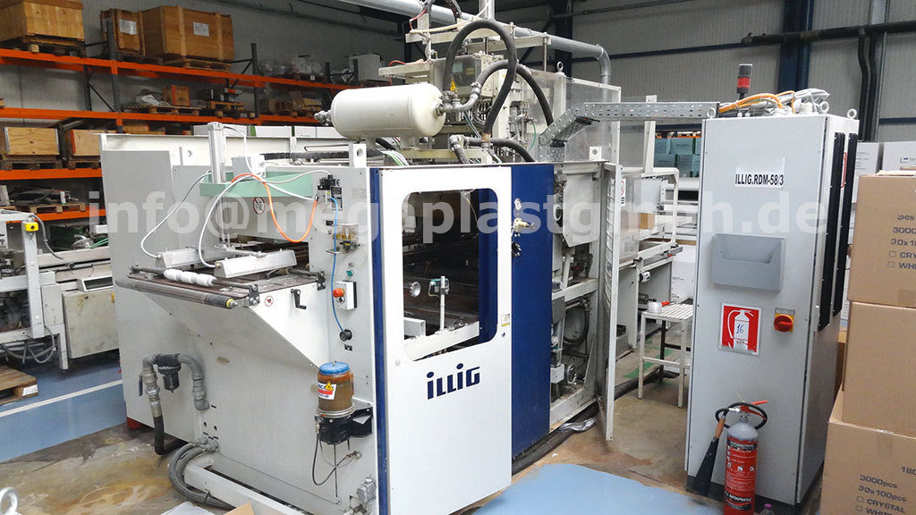 used thermoforming machine