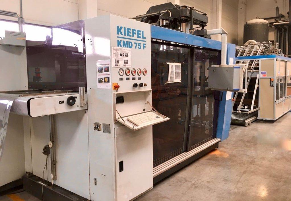 Kiefel Kmd 75 F Bfs Thermoforming Machine