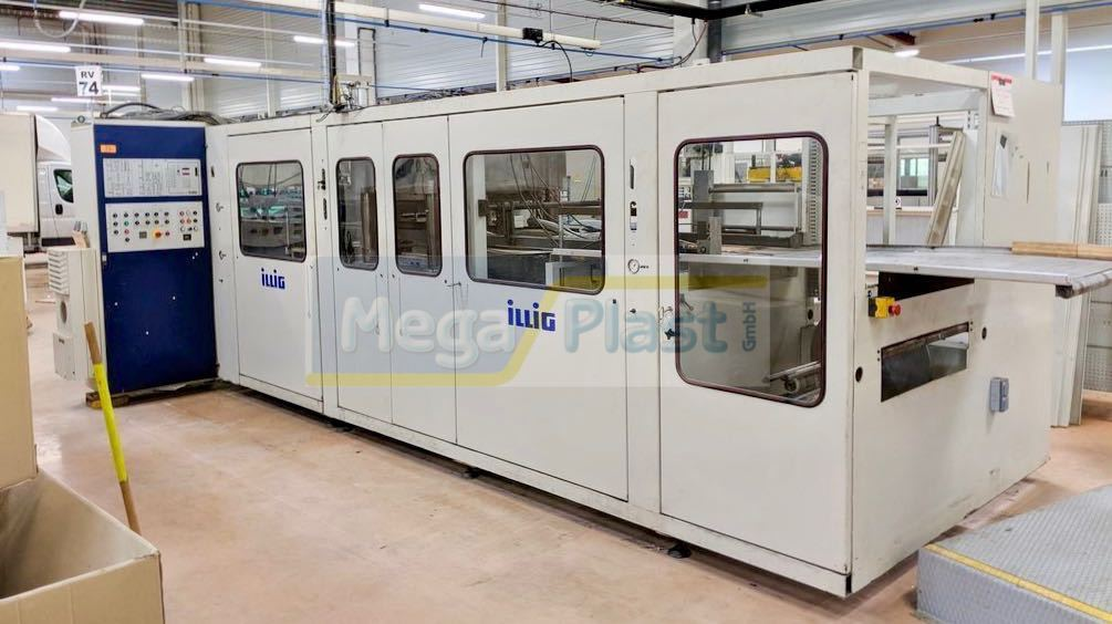 ILLIG RV 74 Vacuum forming machine