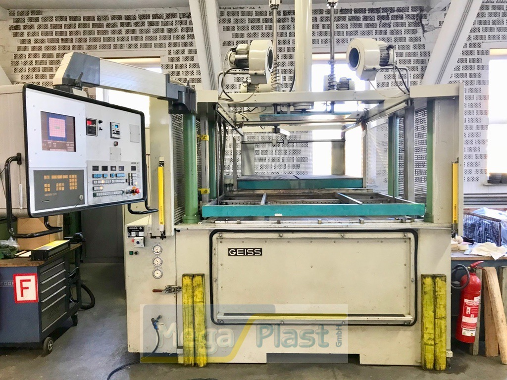 Geiss DU1500 T4 Sheet Forming
