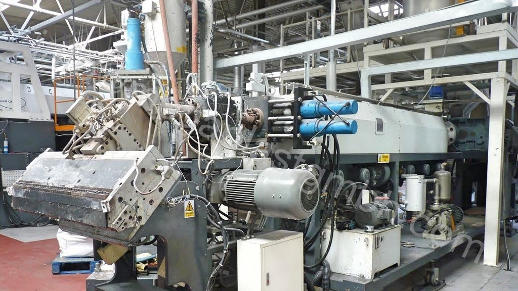 Sunwell PET Sheet Extrusion Line