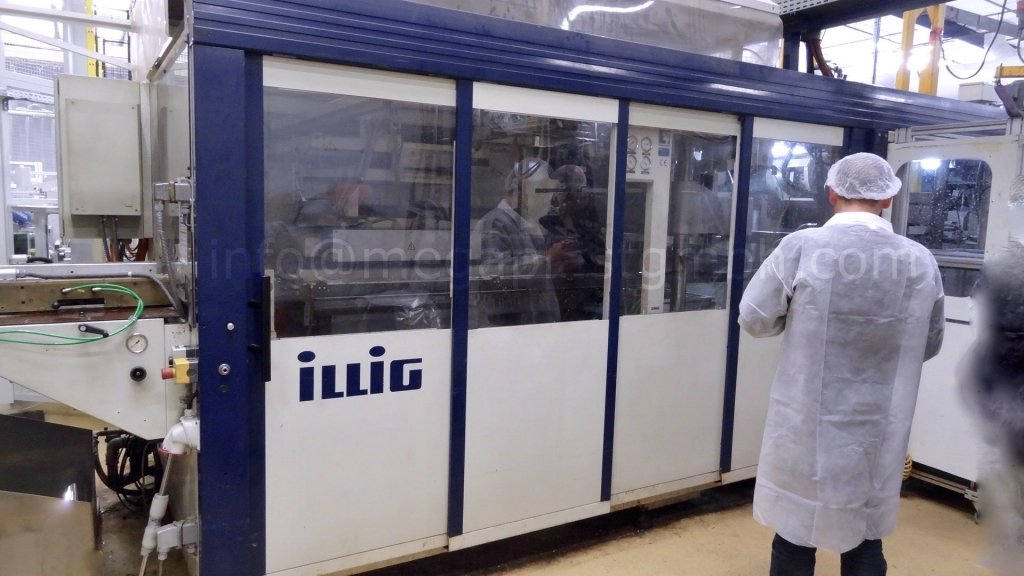 ILLIG RDKP 72G Thermoforming machine