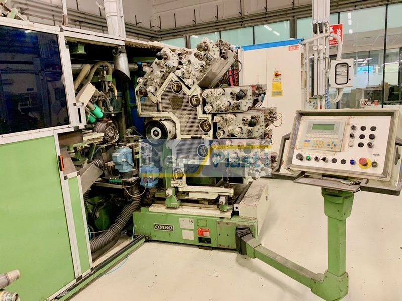 Omso DM 185 Dry Offset round Cup Printing machine