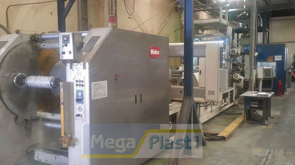 WELEX PET Sheet Extrusion Line