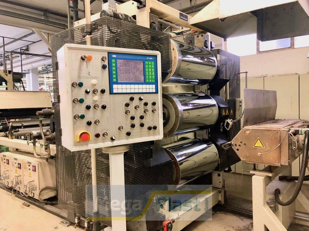 Reifenhauser Co-Extrusion Line with 3 Extruder